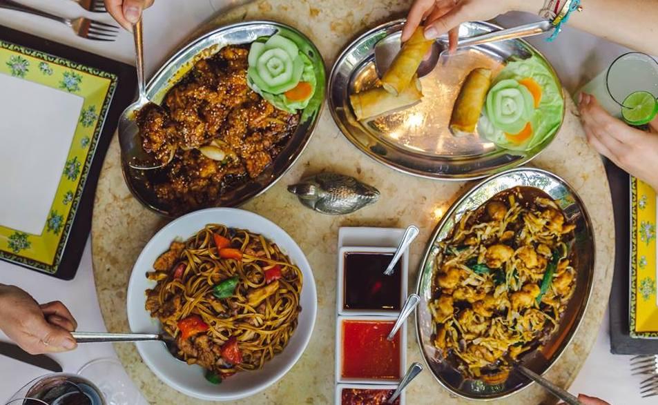 comida china en México